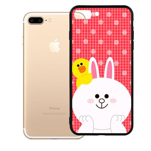 Ốp lưng viền TPU cao cấp dành cho iPhone 7 Plus - Cony 01 - giá tốt - 11323623 , 16704573 , 15_16704573 , 79000 , Op-lung-vien-TPU-cao-cap-danh-cho-iPhone-7-Plus-Cony-01-gia-tot-15_16704573 , sendo.vn , Ốp lưng viền TPU cao cấp dành cho iPhone 7 Plus - Cony 01 - giá tốt