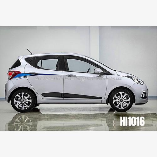 Tem xe ô tô Huyndai I10