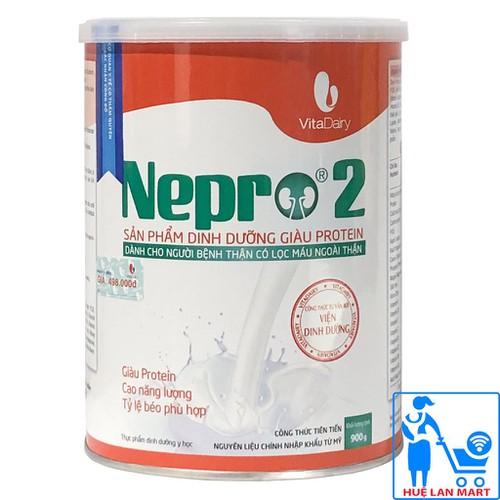 [CHÍNH HÃNG] Sữa Bột Vitadairy Nepro 2 - Hộp 900g