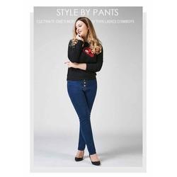 quần jean nữ big size xanh trơn size đại 70-100kg