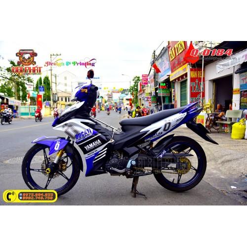 Tem Trùm Xe Exciter 135 Xanh Trắng Ducati - 6706979 , 16733430 , 15_16733430 , 320000 , Tem-Trum-Xe-Exciter-135-Xanh-Trang-Ducati-15_16733430 , sendo.vn , Tem Trùm Xe Exciter 135 Xanh Trắng Ducati