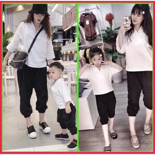 Set quần áo mẹ và bé - Set gia dinh thumbnail