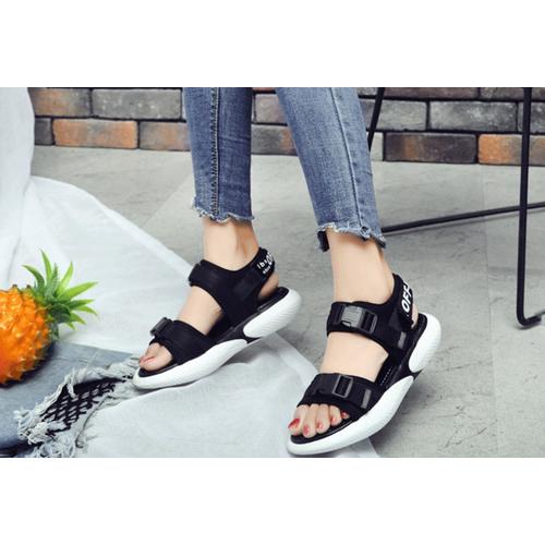 Giày Sandal quai dán thời trang