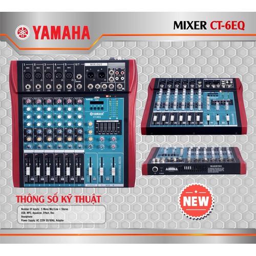 Mixer Yamaha CT-6EQ, 5 line - 6706320 , 16732710 , 15_16732710 , 1940000 , Mixer-Yamaha-CT-6EQ-5-line-15_16732710 , sendo.vn , Mixer Yamaha CT-6EQ, 5 line