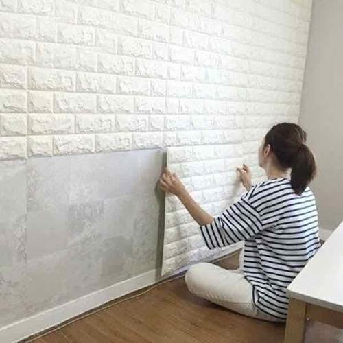 Xốp dán tường- Xốp dán trang trí tường- Trang trí tường