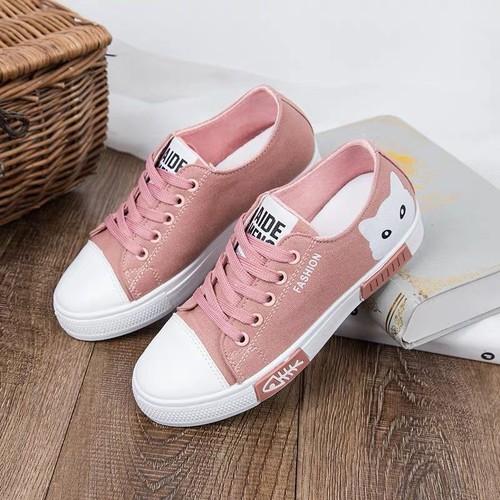 Giày sneaker nữ cổ thấp Mèo xinh siêu hot - 6707954 , 16734060 , 15_16734060 , 265000 , Giay-sneaker-nu-co-thap-Meo-xinh-sieu-hot-15_16734060 , sendo.vn , Giày sneaker nữ cổ thấp Mèo xinh siêu hot