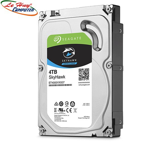 Ổ cứng HDD Camera Seagate Skyhawk 4TB 3.5