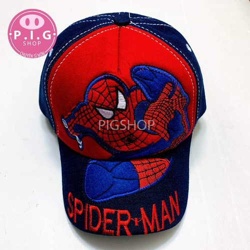 Nón kết spiderman cho bé trai 2-7 tuổi