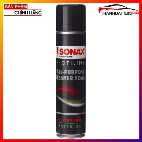 Bọt Làm Sạch Nội Thất Ô Tô Sonax All-Purpose Cleaner Foam 400ml - 6710572 , 16735944 , 15_16735944 , 200000 , Bot-Lam-Sach-Noi-That-O-To-Sonax-All-Purpose-Cleaner-Foam-400ml-15_16735944 , sendo.vn , Bọt Làm Sạch Nội Thất Ô Tô Sonax All-Purpose Cleaner Foam 400ml