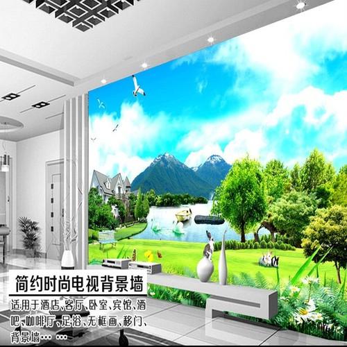 Tranh dán tường cửa sổ 120x180cm TDT186