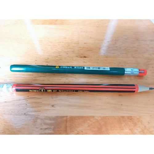 Combo 2 bút chì bấm kiểu thân gỗ