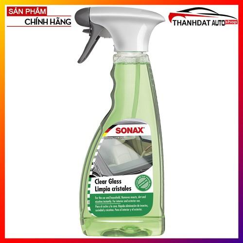 Dung Dịch Làm Sạch Và Trong Kính Ô Tô Sonax Clear Glass 500ML