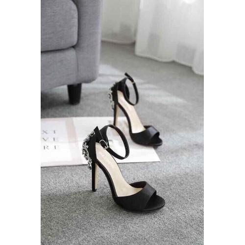 Giày thời trang Giày cao gót hở mũi