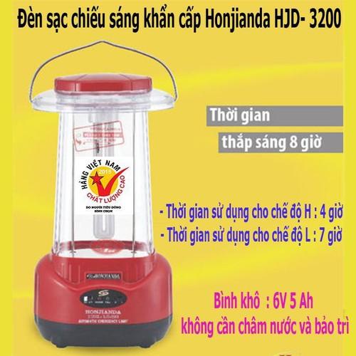 Đèn sạc chiếu sáng khẩn cấp HJD-3200