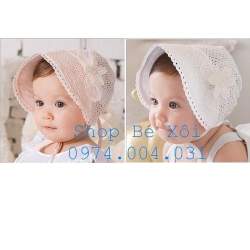 Mũ tiểu thư cho bé gái - có hình thật