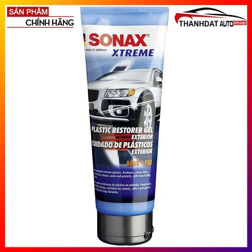 Gel nano bảo dưỡng và phục hồi nhựa ngoài xe Sonax Xtreme 250ml