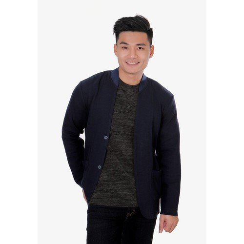 Áo nam kiểu vest Narsis D8076 xanh tím than