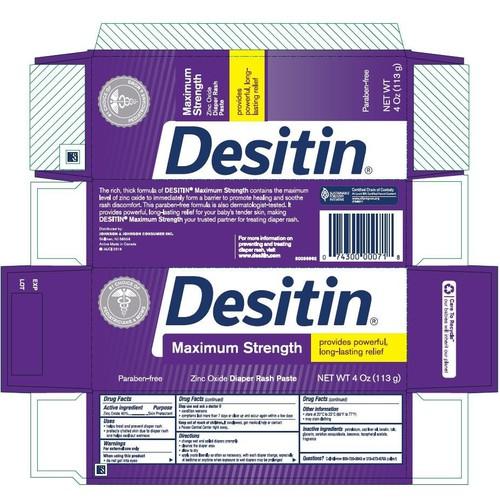 Kẹm trị hăm cho bé Desitin màu tím 113g - 6700062 , 16727845 , 15_16727845 , 215000 , Kem-tri-ham-cho-be-Desitin-mau-tim-113g-15_16727845 , sendo.vn , Kẹm trị hăm cho bé Desitin màu tím 113g