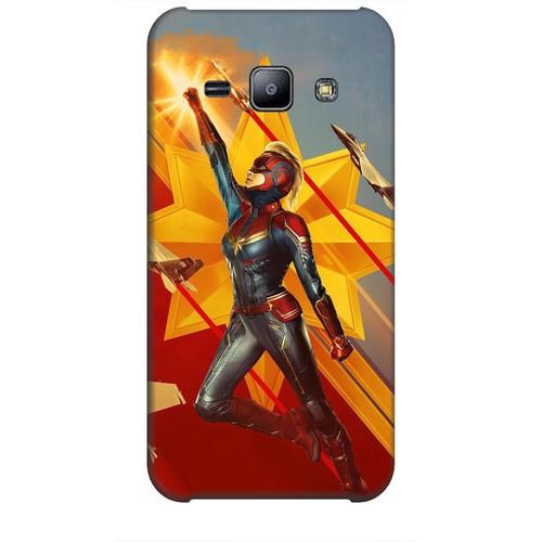 Ốp lưng nhựa dẻo dành cho Samsung Galaxy J2 Hình Captain Marvel Mẫu 7