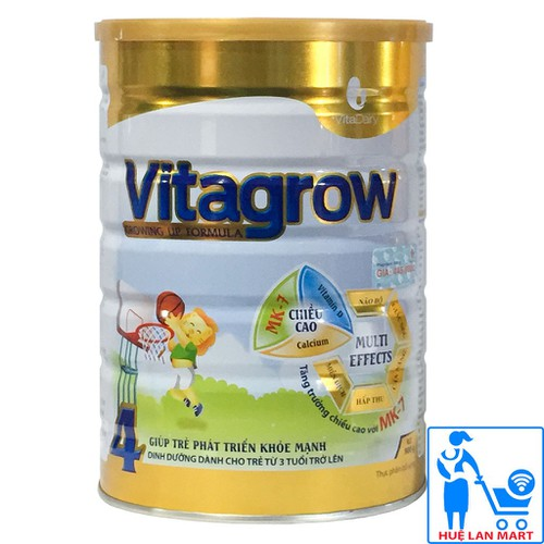 [CHÍNH HÃNG] Sữa Bột Vitadairy Vitagrow 4 - Hộp 900g