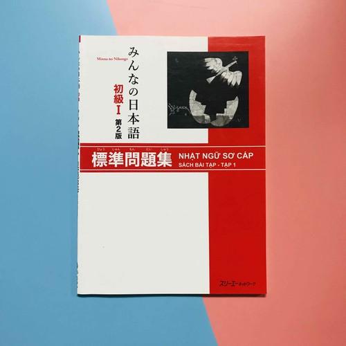 Sách Minna no Nihongo Nhật ngữ Sơ Cấp Sách Bài Tập bản mới
