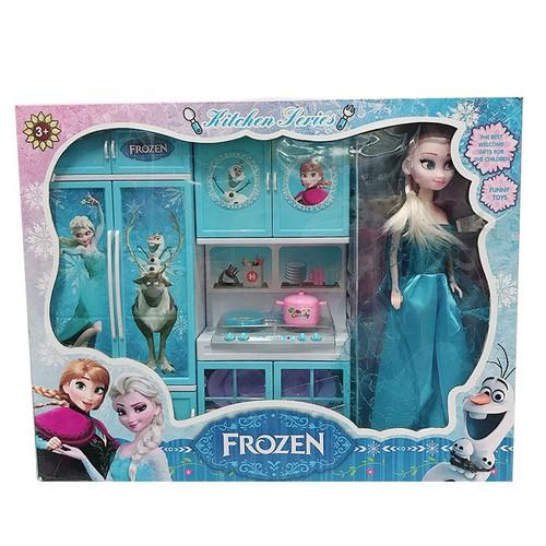 Búp bê Elsa kèm bếp đôi DA1665