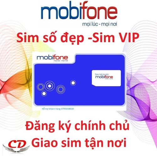 Sim số đẹp mobifone đồng giá 800,000