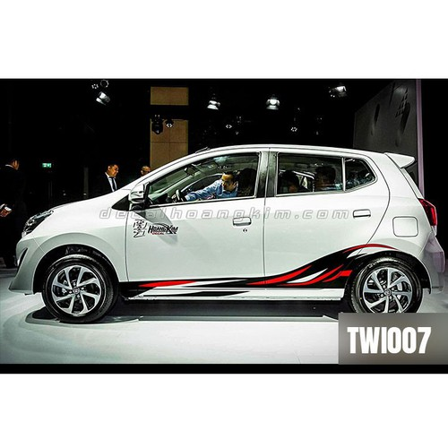 Tem xe ô tô Toyota Wigo