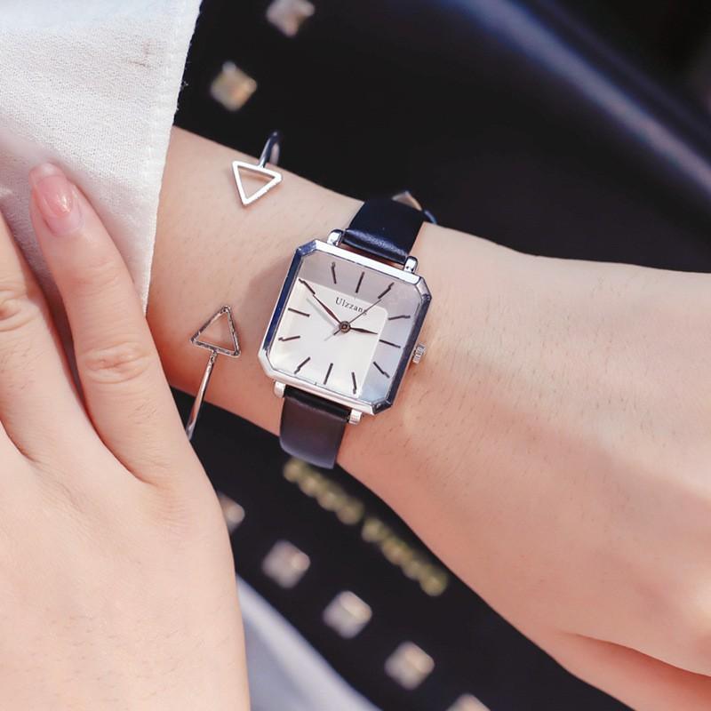 Đồng hồ nữ-Đồng hồ nữ dây da 3