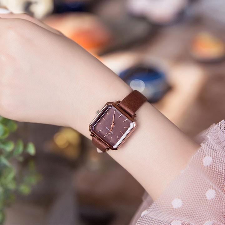 Đồng hồ nữ-Đồng hồ nữ dây da 2
