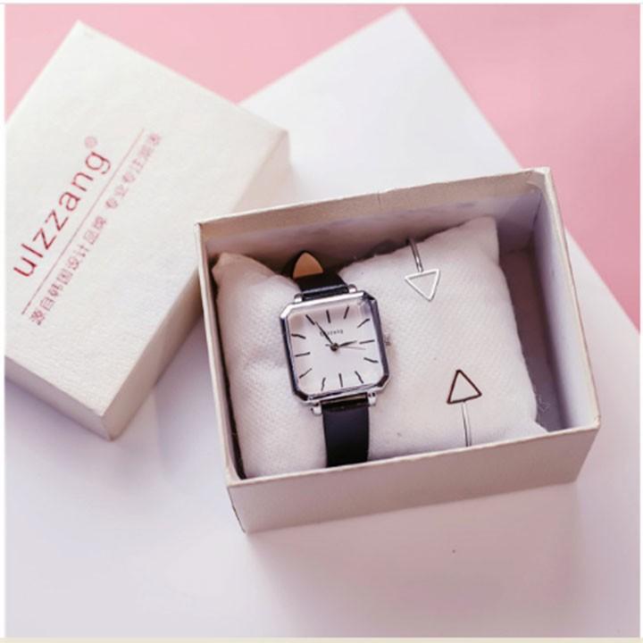 Đồng hồ nữ-Đồng hồ nữ dây da 5