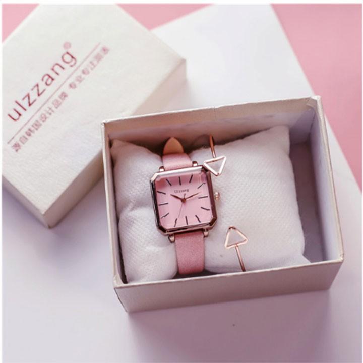 Đồng hồ nữ-Đồng hồ nữ dây da 6