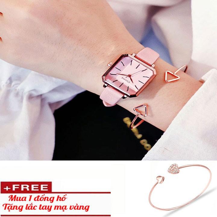 Đồng hồ nữ- Đồng hồ nữ tặng vòng tay cao cấp 2