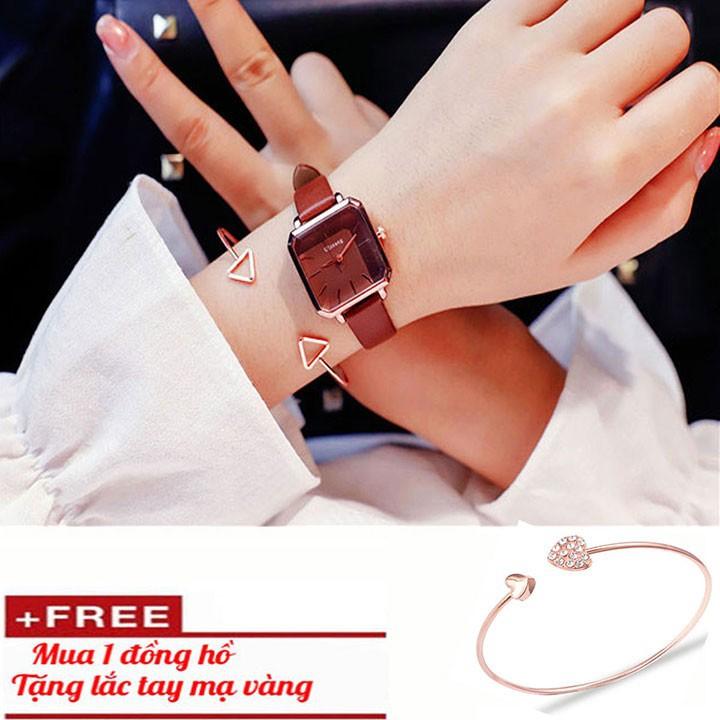 Đồng hồ nữ- Đồng hồ nữ tặng vòng tay cao cấp 3