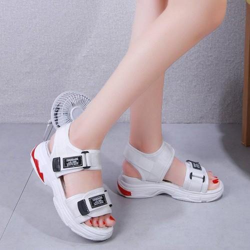 Sandal bánh mì đế đỏ