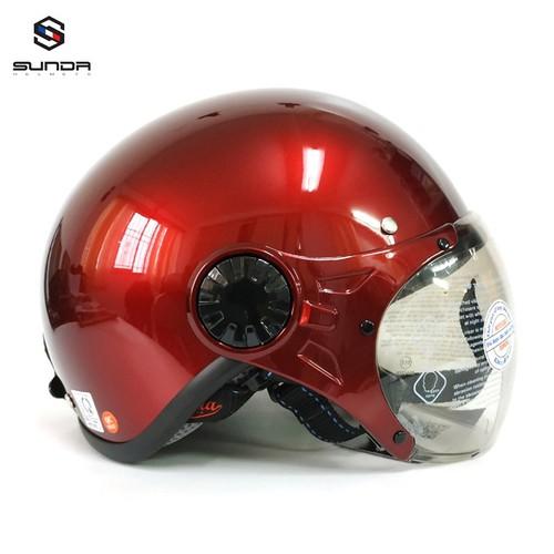 Mũ bảo hiểm - Nón bảo hiểm - Nón bảo hiểm SUNDA - Mũ bảo hiểm nửa đầu có kính Sunda 136B mẫu mới màu ĐỎ MẬN BÓNG - 6710213 , 16735701 , 15_16735701 , 320000 , Mu-bao-hiem-Non-bao-hiem-Non-bao-hiem-SUNDA-Mu-bao-hiem-nua-dau-co-kinh-Sunda-136B-mau-moi-mau-DO-MAN-BONG-15_16735701 , sendo.vn , Mũ bảo hiểm - Nón bảo hiểm - Nón bảo hiểm SUNDA - Mũ bảo hiểm nửa đầu có k