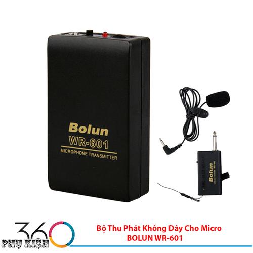Bộ Thu Phát Không Dây Cho Micro BOLUN WR-601