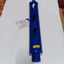 Mũi khoan rút lõi khô kích thước 56x370mm lưỡi hợp kim chuyên dùng cho thợ điều hòa