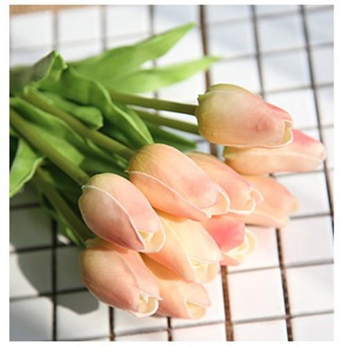 Hoa tulip nhỏ hoa giả nhân tạo - giống thật 1 cành