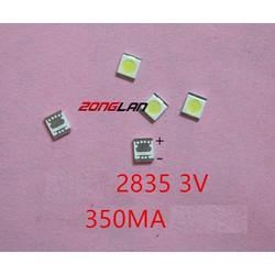 Đèn LED 2835 3V 1W 350mA LCD 100con 1 dây