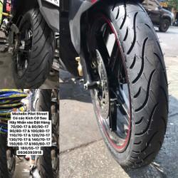 Vỏ Xe Michelin 100 80 17 Pilot Street cho Exciter và Winner