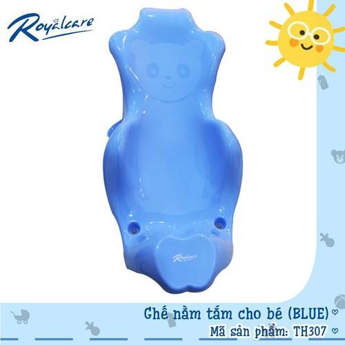 Ghế nằm tắm cho bé th307 chính hãng màu xanh biển