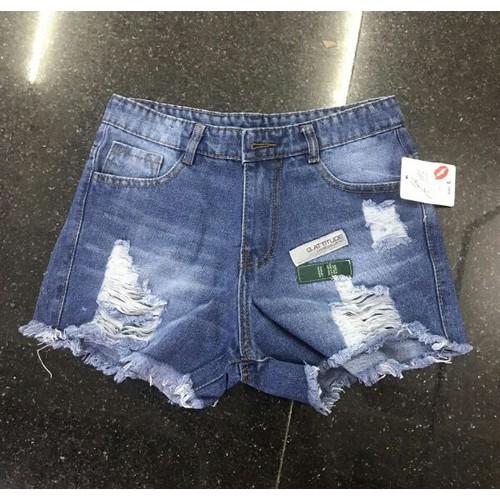 Quần short jean nữ cực hot - 6716808 , 16740508 , 15_16740508 , 95000 , Quan-short-jean-nu-cuc-hot-15_16740508 , sendo.vn , Quần short jean nữ cực hot
