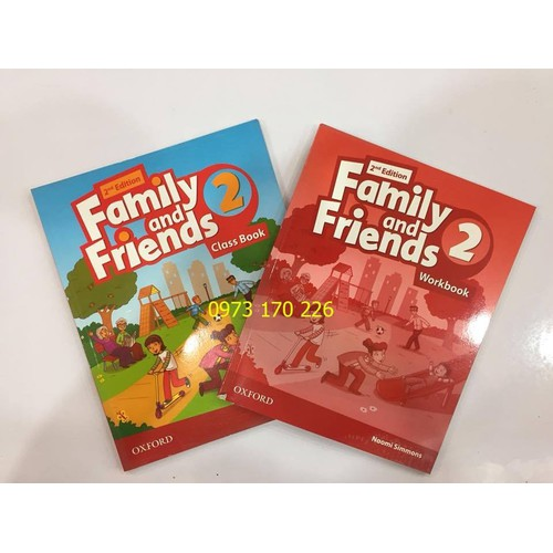 Sách Family and friends 2 - 2nd edition