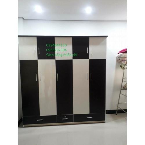 Tủ nhựa 5 cánh 2mx1m8 0334644150 - 0933292304