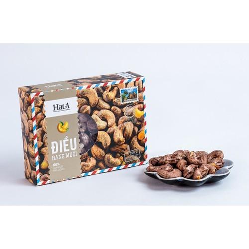 Hạt điều vỏ lụa rang muối 200g Cashew nut