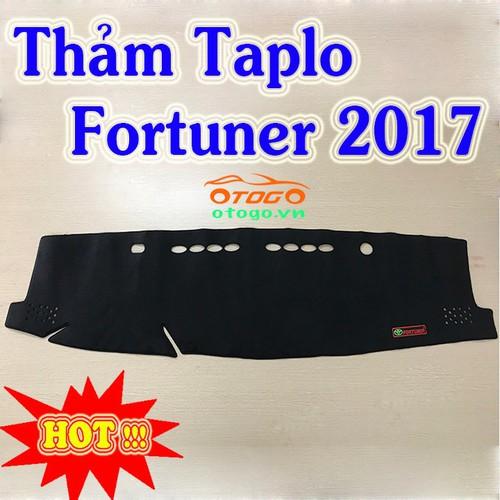 Thảm Taplo Cao Cấp Fortuner 2017