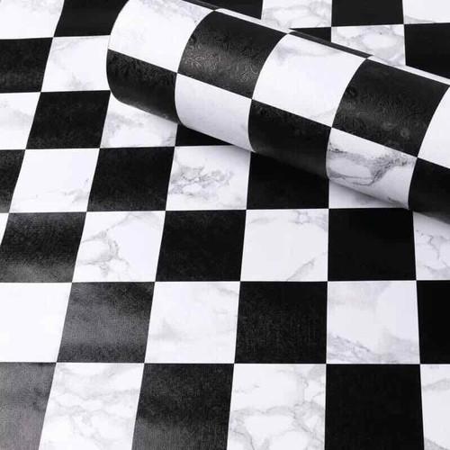 10m Decal giấy dán tường ô vuông đen trắng keo sẵn khổ 45cm - 6747057 , 16763948 , 15_16763948 , 100000 , 10m-Decal-giay-dan-tuong-o-vuong-den-trang-keo-san-kho-45cm-15_16763948 , sendo.vn , 10m Decal giấy dán tường ô vuông đen trắng keo sẵn khổ 45cm
