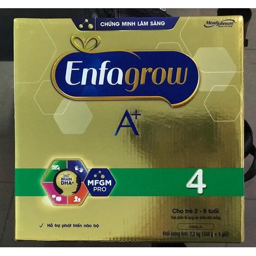 Sữa Bột Enfagrow A+ 4 hộp giấy 2,2kg