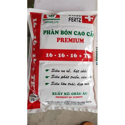 Phân bón cao cấp Premium 16-16-16-TE
